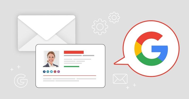 aggiungere la firma su gmail