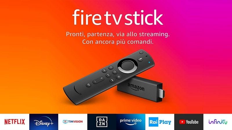 come funziona il nuovo fire tv stick