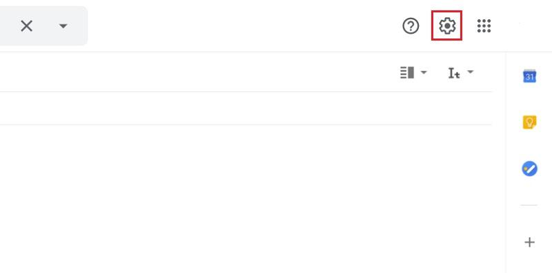 aprire impostazioni gmail per firma