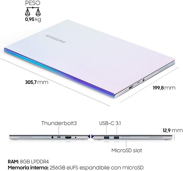 portatile galaxy book ion