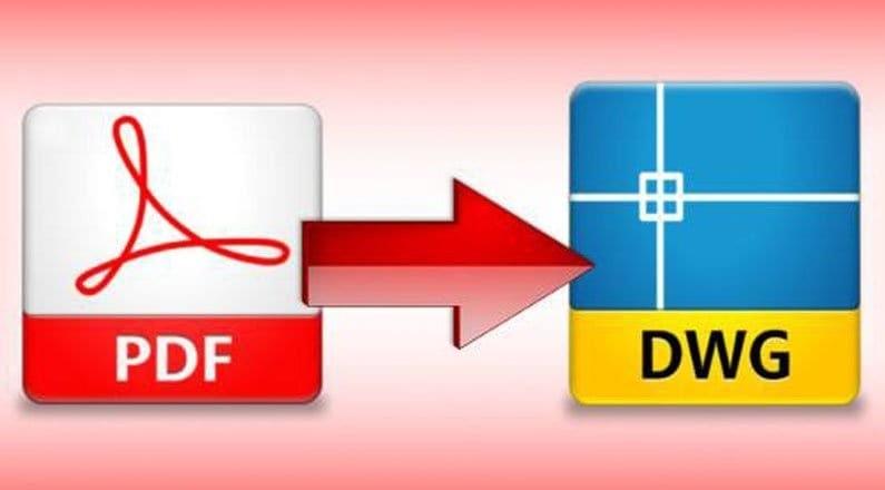 da pdf a dwg