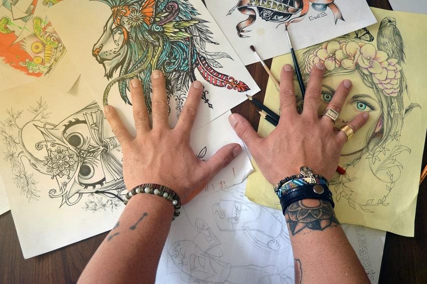 scegliere disegno tatuaggio