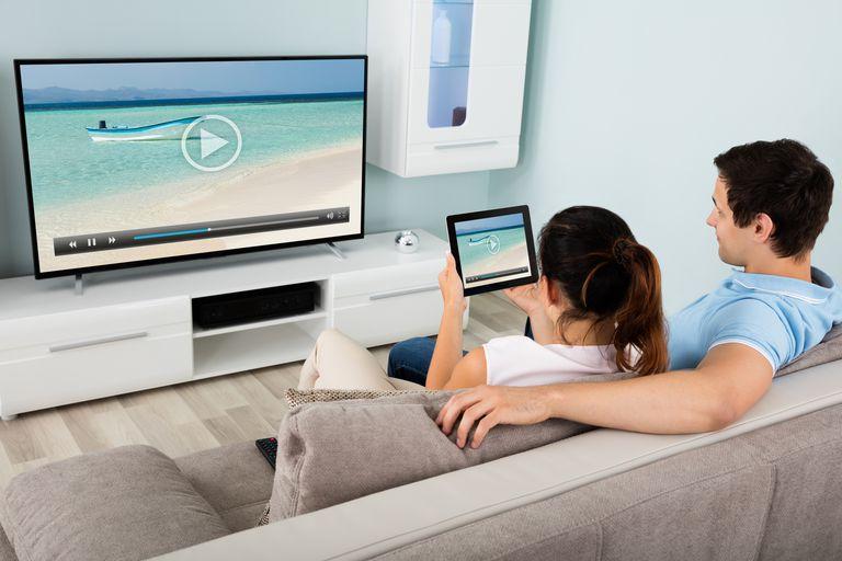 mirroring tablet tv