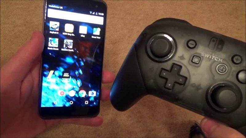 smartphone e nintendo switch
