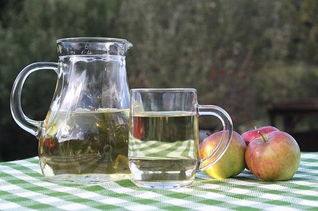 ingredienti per il sidro di mele