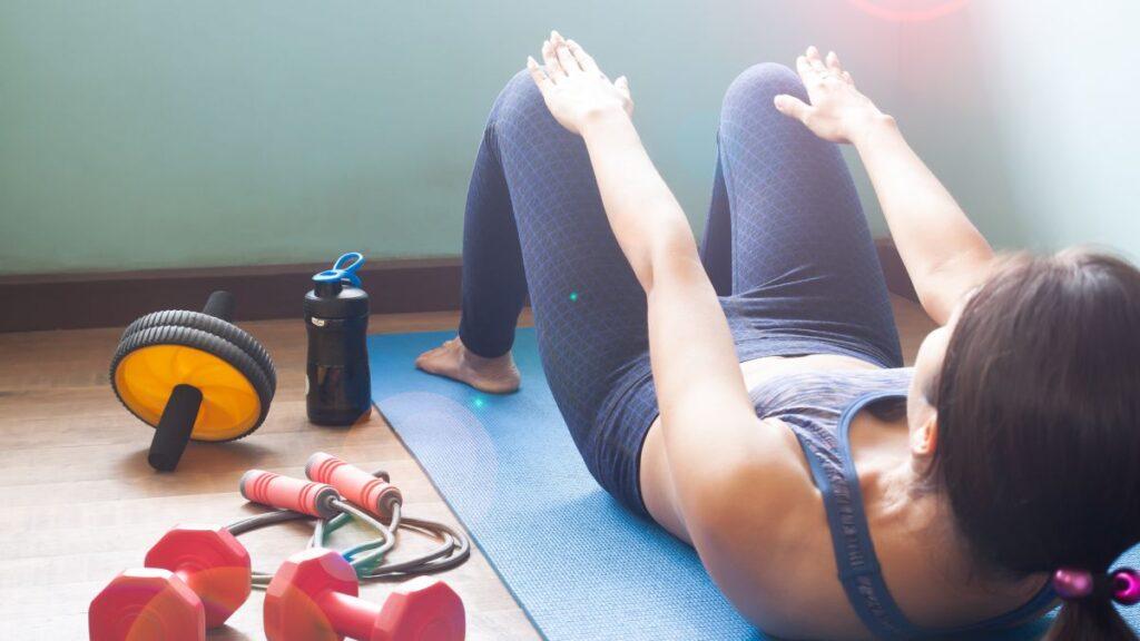 rinforzare muscoli a casa