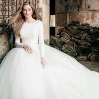 vestito da sposa inverno