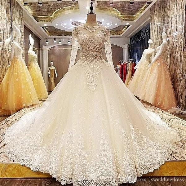 abito da sposa per l'inverno