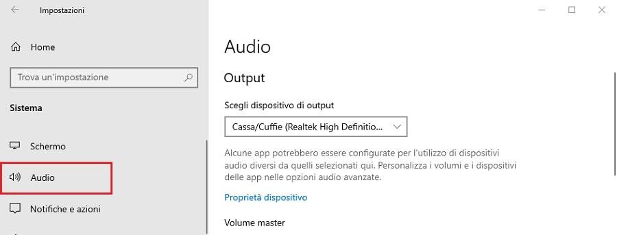 audio windows