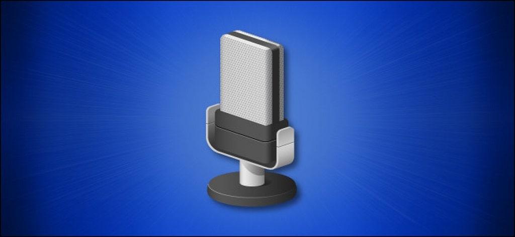 volume microfono windows 10