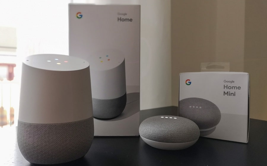 come configurare google home