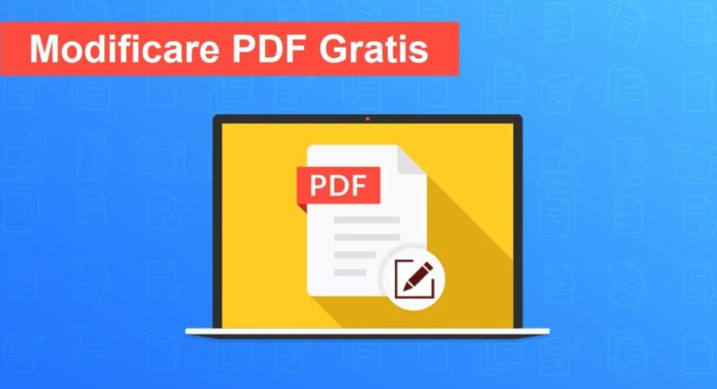modificare un pdf gratis