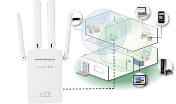 aumentare segnale internet