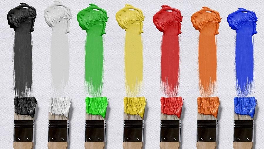 colorare con le tempere
