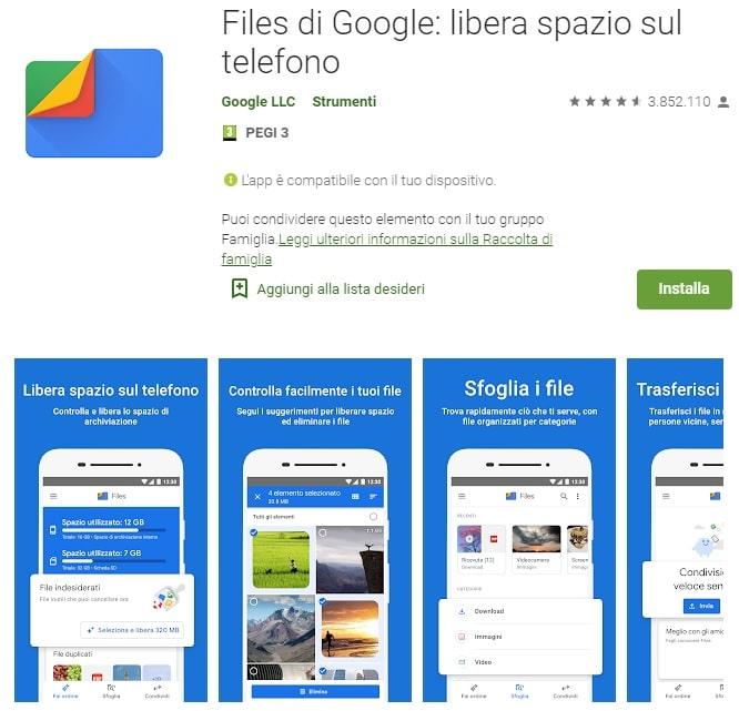 file di google
