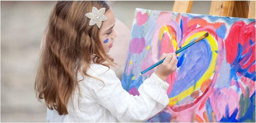 dipingere con colori acrilici