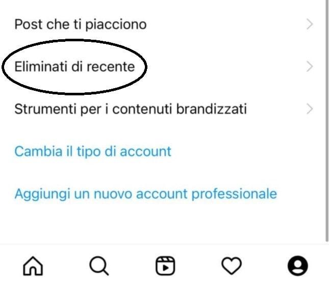 Come recuperare Post Instagram cancellati