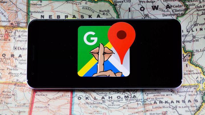 usare maps in incognito