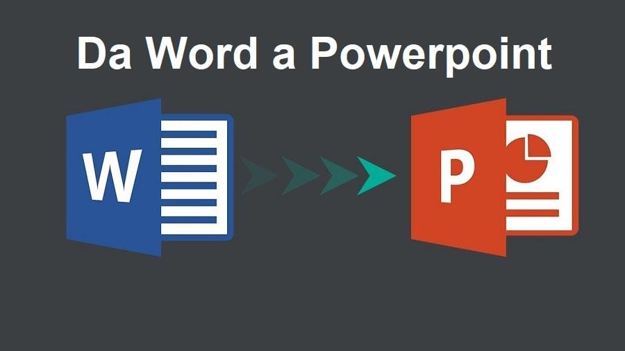 convertire word in powerpoint