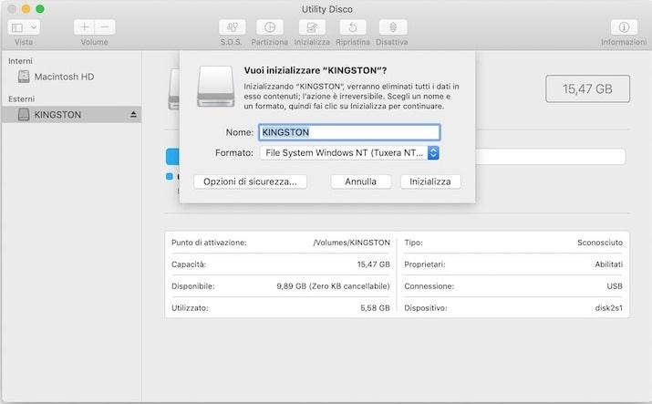 scrivere pendrive sia su windows che su mac