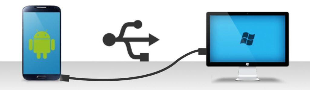collegare smartphone al pc con cavo