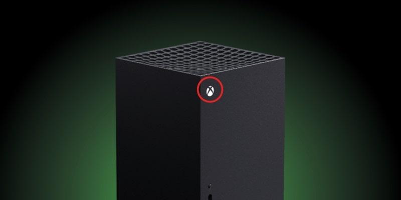 pulsante spegnimento console microsoft