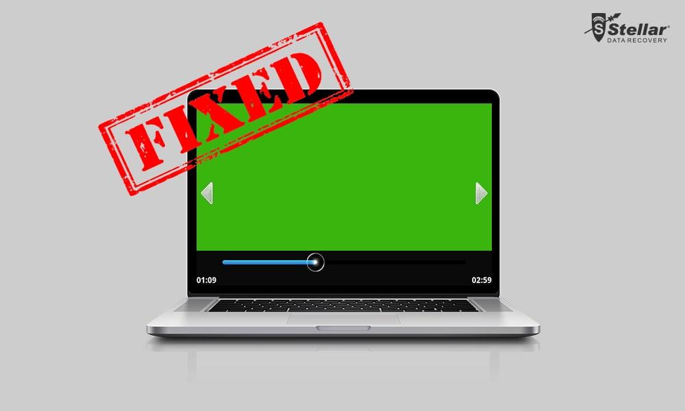 risolvere problema schermo verde di youtube