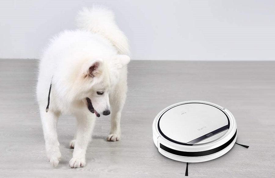 aspirapolvere robot per peli cani e gatti