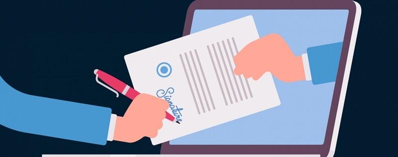 come firmare digitalmente un documento