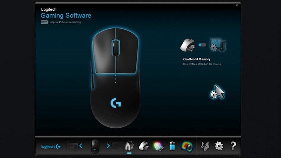 software per mouse logitech