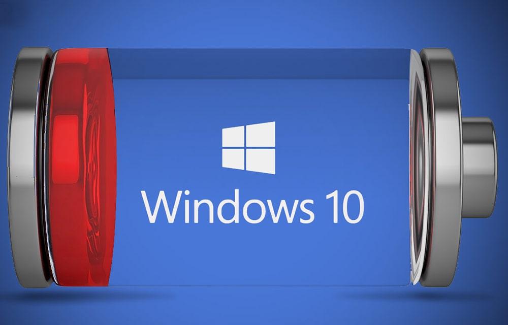 come aumentare la durata della batteria del computer windows 10
