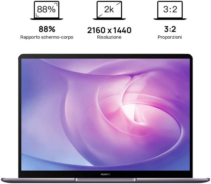 caratteristiche del portatile huawei